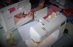 machine à coudre atelier outils non indispensable, mais quand même !