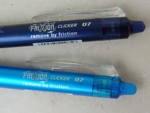 Stylos pilot frixion - outils