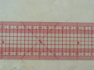règle japonaise gros plan - outils