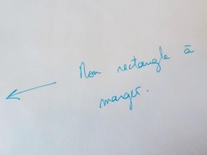 rectangle à marger - outil