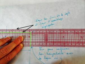 verifier horizontalité et verticalité règle japonaise - outils pour vérifier les verticales et horizontales
