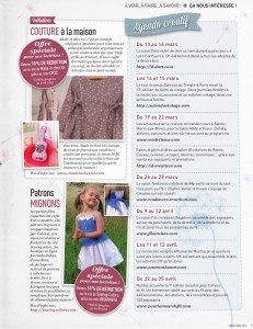 Page entiere Creative Magazine - Made in chez toi et Sewing colors