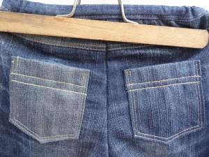 détails poches jean