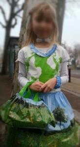 robe écologique recyclage sac en plastique