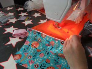 cours de couture enfant réalisation