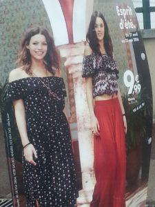 robe carmen tendance gemo