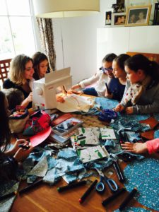 cadeau commun couture ensemble enfants