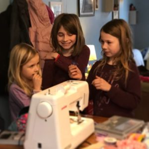 la bande atelier de couture made in chez toi enfants