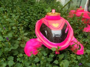 navette poulet fluo recyclage