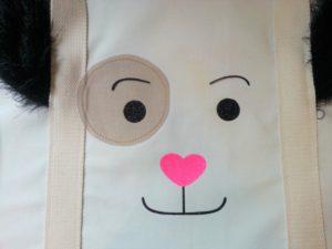 sac chien bouille reelle 4 rond oeil