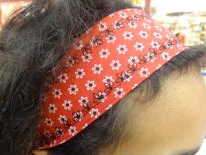 bandeau pour les cheveux